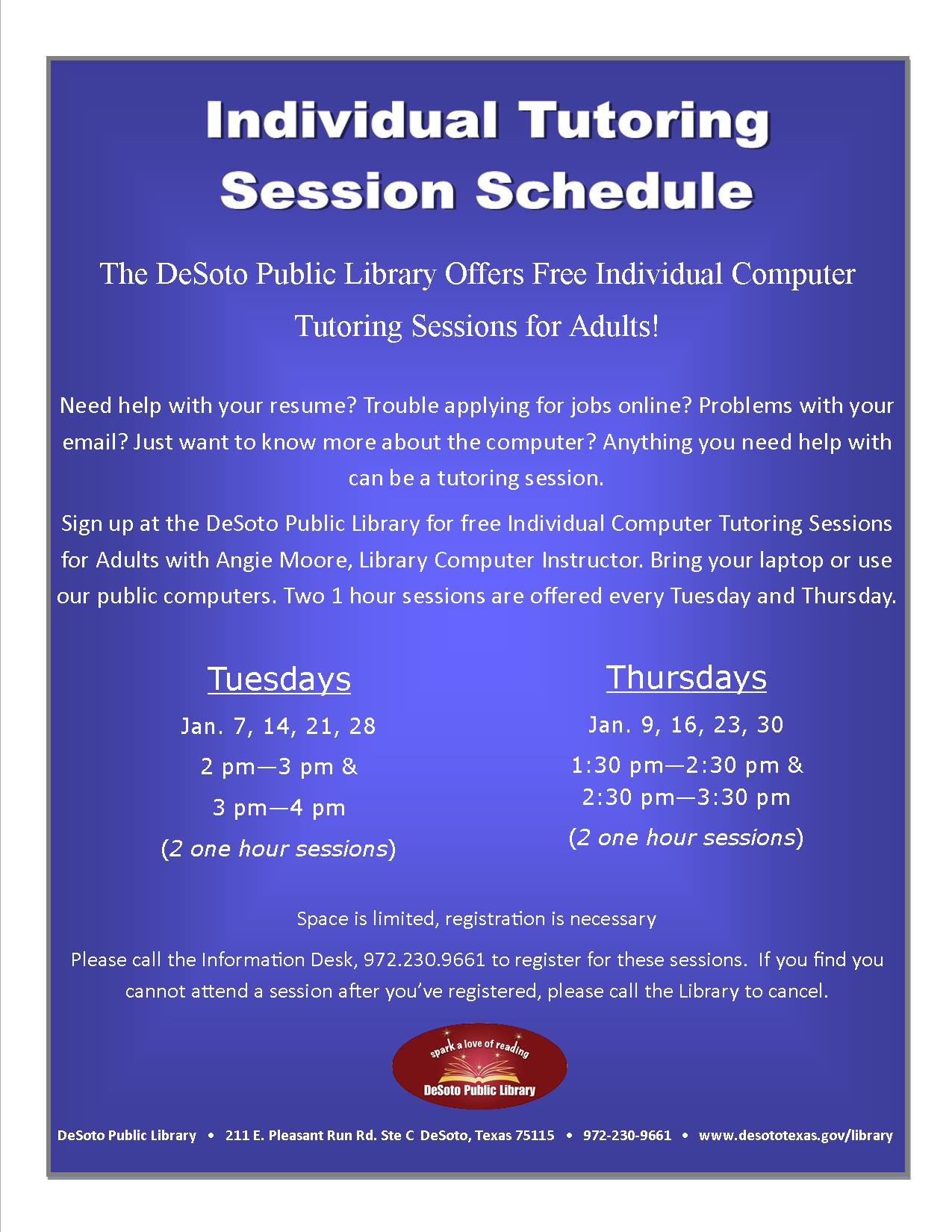 Individual Tutoring Schedule January 2014.jpg