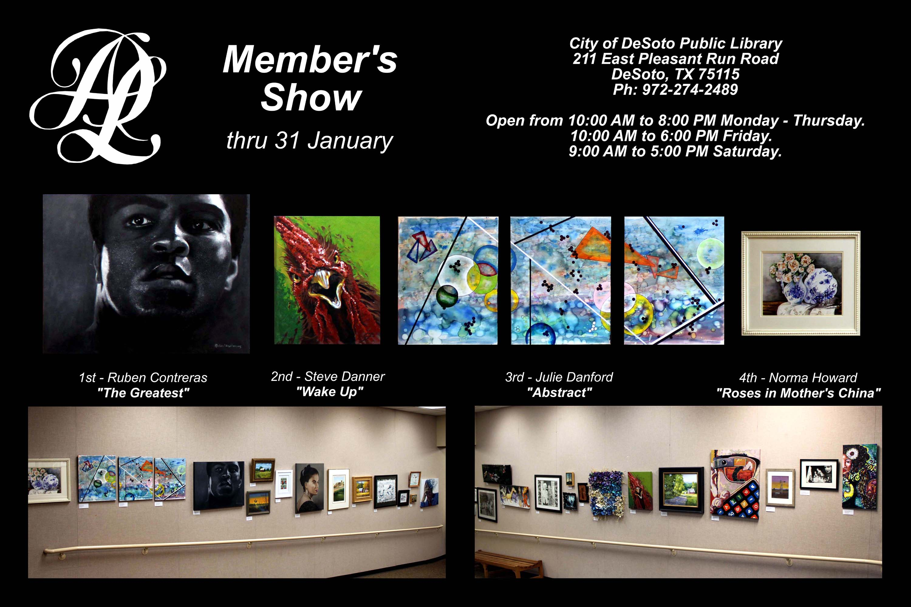 DeSoto Art League Member's Show