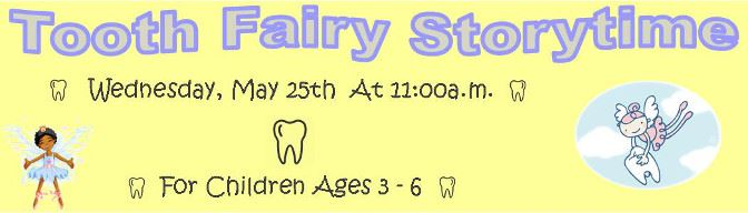 Banner for Tooth Fairy Story Time