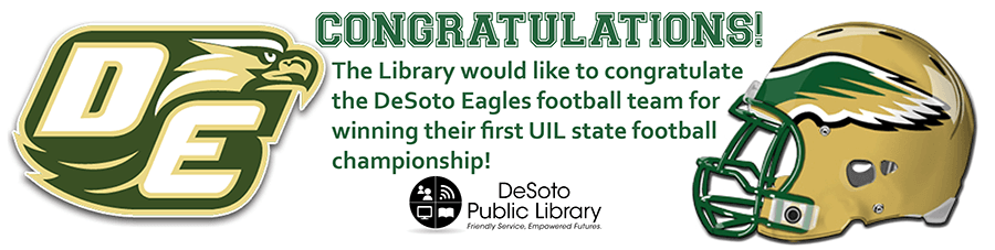 DeSoto HS Football - state champs