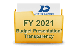 FY 2017 Budget Presentation Transparency
