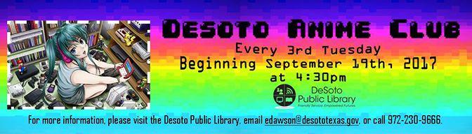 Desoto Anime Club September 2017 banner-672w