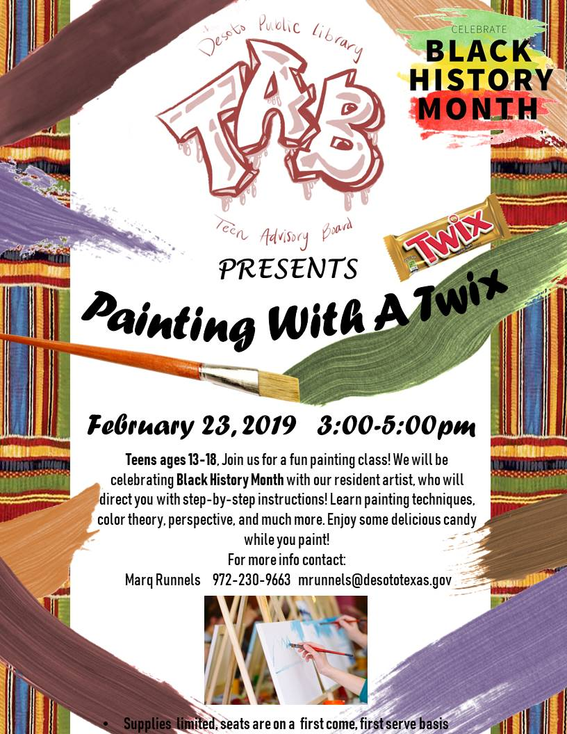 painting with a twix- BHM 2