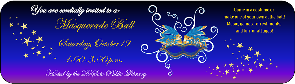 Masquerade Ball October 2019 banner