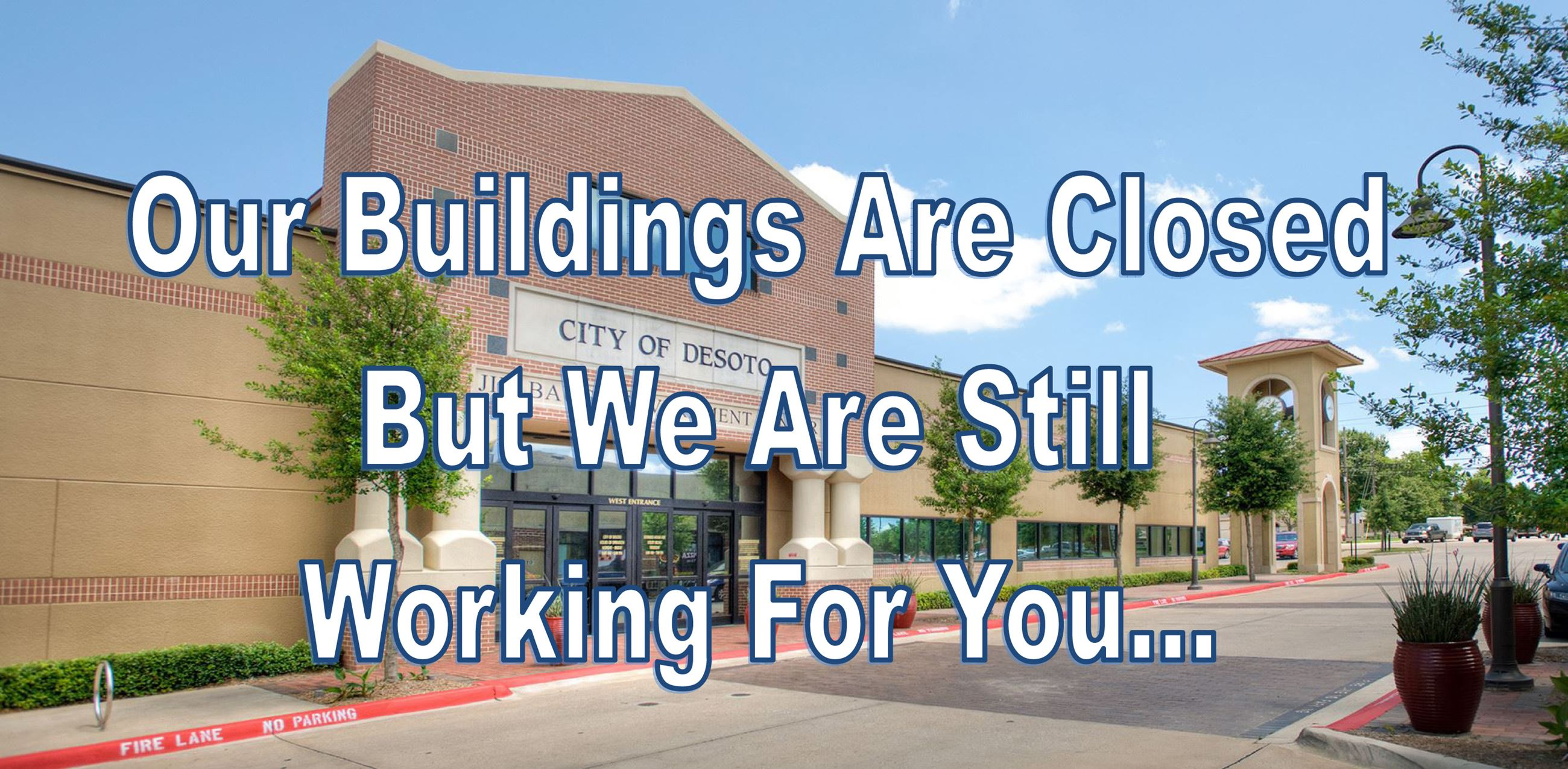 Buildings Closed graphic