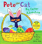 Pete the Cat: Big Easter Adventure book cover image