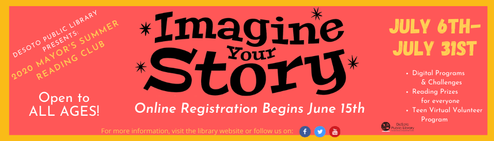 General Summer Reading 2020 - Click here for more info about the program