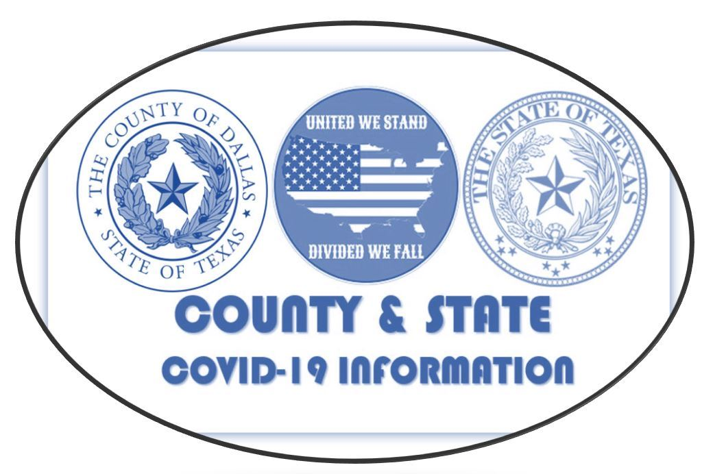 County State United Blue White Oval