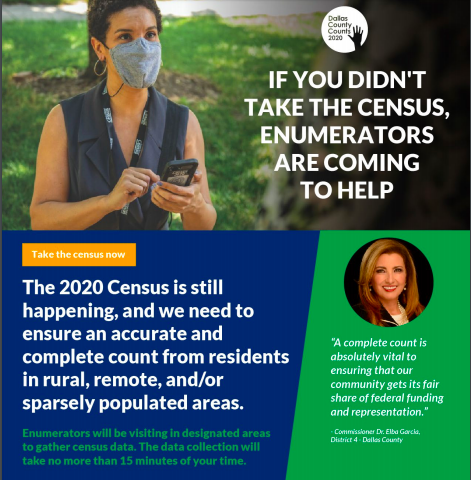 2020 Census - Enumerators Are Coming To Help
