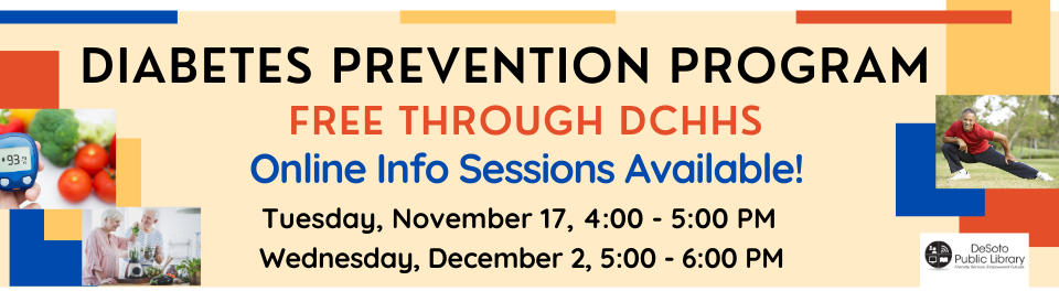 Free DCHHS Diabetes Prevention Program Classes - Find Out More In Upcoming Online Sessions!