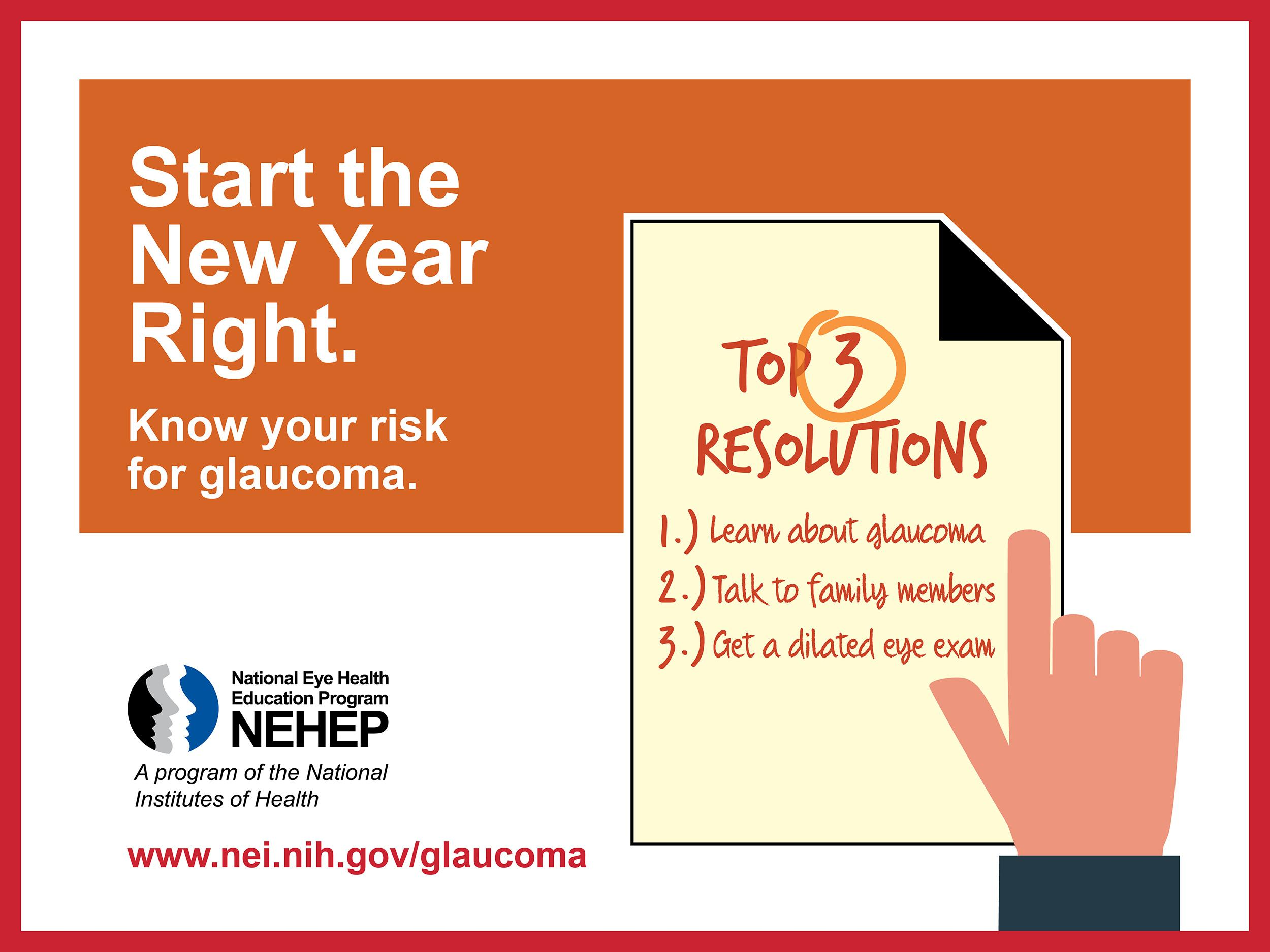 Start The New Year Right - Know Your Risk For Glaucoma