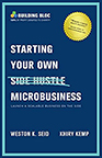 Starting Your Own Microbusiness book cover image--click to access ebook via Hoopla