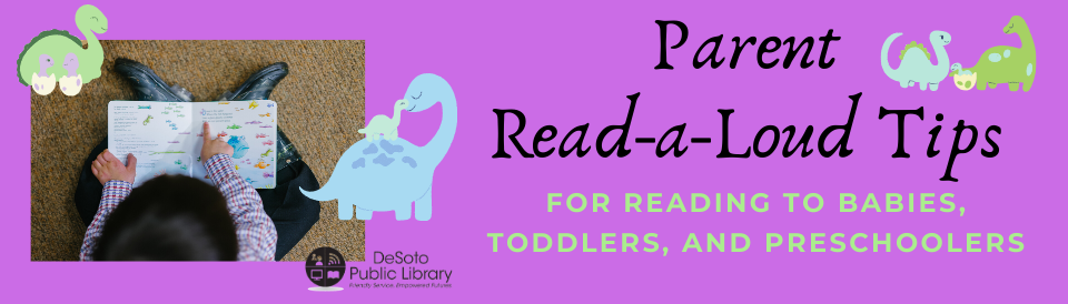 Parent Reading Tips banner image