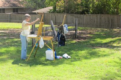 1st Annual DeSoto Art League Nance Farm Paint-Off