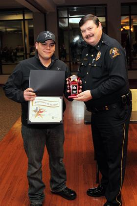 Supervisor of the Year Corporal Christopher Huerta