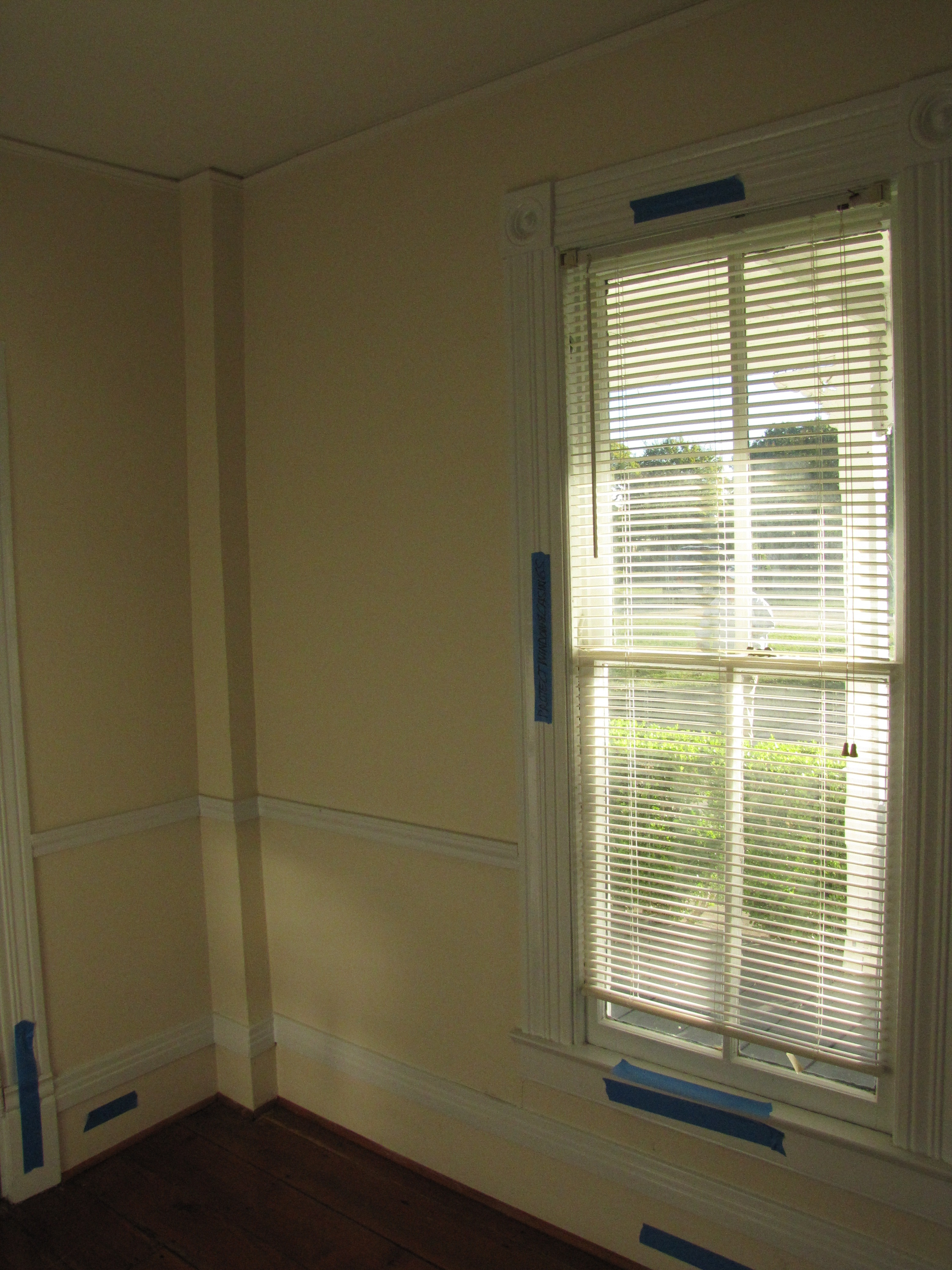 North and East Walls of Downstairs South Bedroom