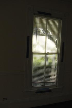 East Wall of Birthing Room (1 of 2 Windows)