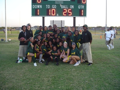 2007 Powder Puff Football Game