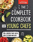 The Complete Cookbook for Young Chefs book cover image