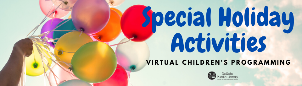 Special Holiday Activities--Virtual Children's Programming image