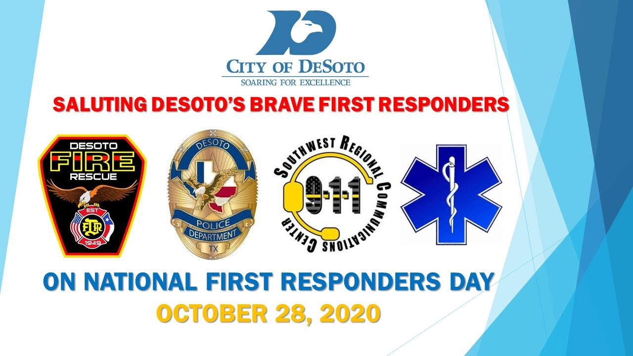 First Responders Day 2020