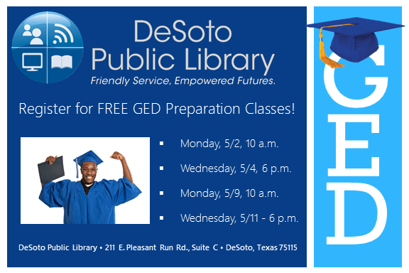Free GED Prepration Classes